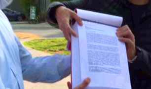 Cesar Combina recibió a joven que reunió más de 30 mil firmas para frenar proyecto de sistema de pensiones