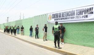 Mininter sobre centros de retención para infractores: la idea no es reprimir a los ciudadanos
