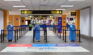 Pruebas de descarte COVD-19 se podrán realizar en el aeropuerto Jorge Chávez