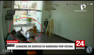 Barranco: conserje denuncia a mujer que lo golpeó e insultó porque no la ayudó a mover un televisor