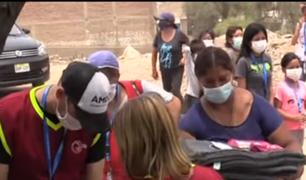 Venezolanos llevan ayuda para abastecer comedores populares en Villa María del Triunfo