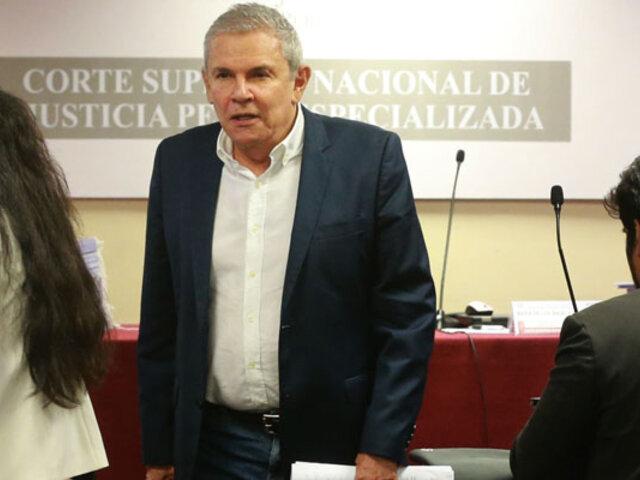 PJ evalúa  hoy extensión de impedimento de salida del país para Luis Castañeda Lossio