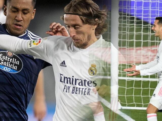Renato Tapia: Celta de Vigo cayó 2-0 frente al Real Madrid