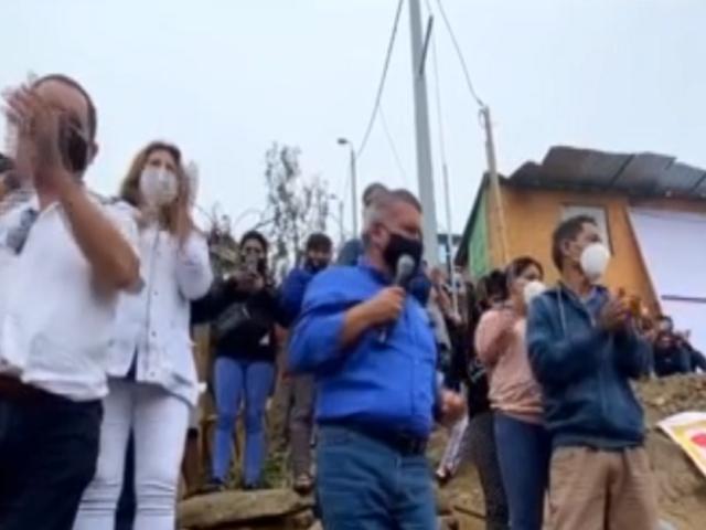César Acuña inicia campaña en SJL junto a su plancha presidencial