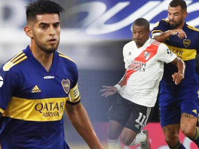 """Carlos Zambrano: Boca empató con River en la Copa """"Diego Maradona"""""""