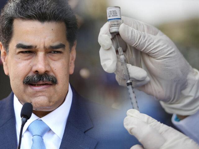 Maduro denuncia bloqueo de recursos para compra vacunas de COVID-19