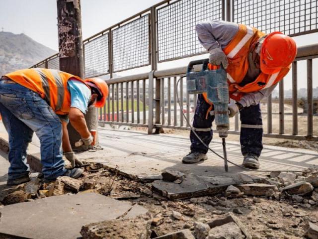 Municipio de Lima realizó el mantenimiento de 140 puentes de la capital