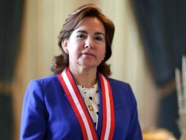 Elvia Barrios sobre denuncia ante su persona: Cerrón, como otro peruano, pueden tomar las acciones legales que crean pertinente