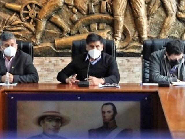 Suspenden por 30 días al alcalde de Huaraz por incumplir el reglamento del concejo
