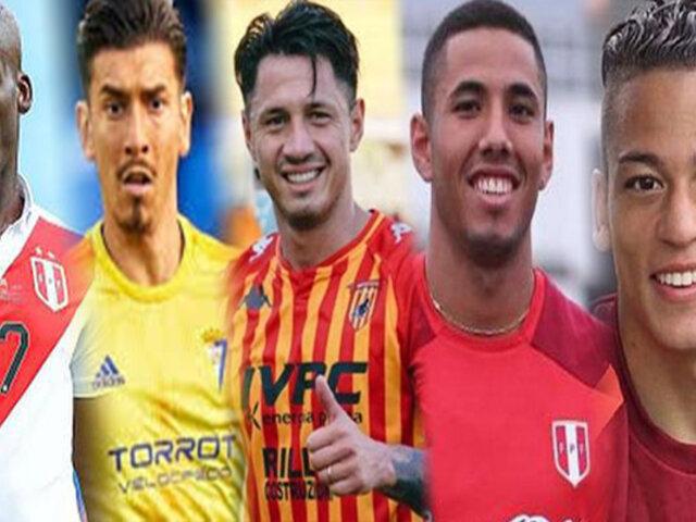 Los 8 futbolistas peruanos destacados en Ligas europeas