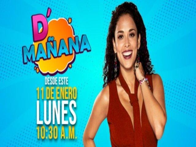 D' Mañana: Hoy es el gran estreno del nuevo programa que conducirá Adriana Quevedo