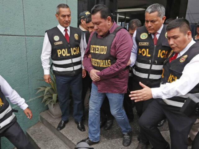 Félix Moreno: Fiscalía solicitó 35 años de prisión para el exgobernador del Callao