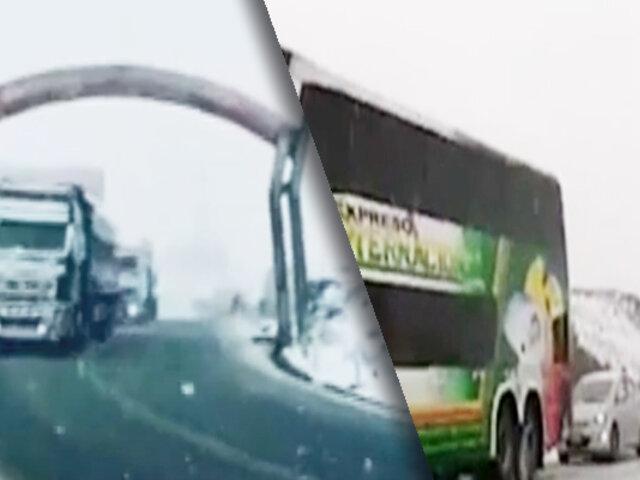 La Carretera Central fue reabierta en Junín