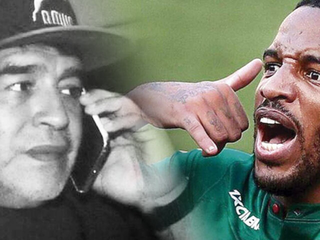 "Farfán reveló llamada inédita de Maradona: ""Me ofreció ir a Gimnasia"""