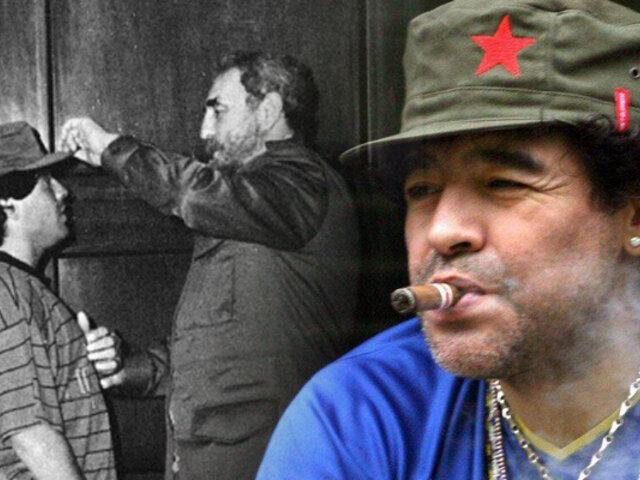 Herencia de Maradona incluye una casa en La Habana que le regaló Fidel Castro