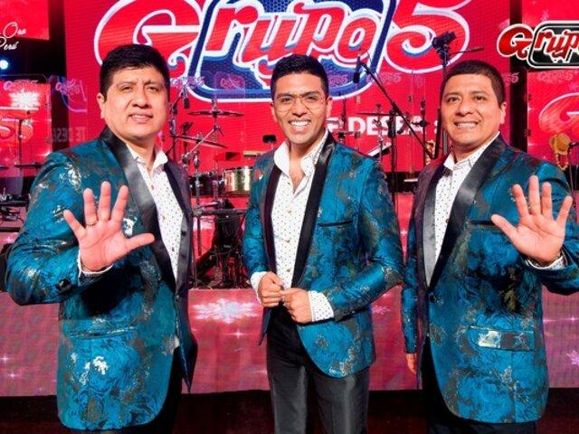 """""""Grupo 5"""" descarta realización de conciertos presenciales"""