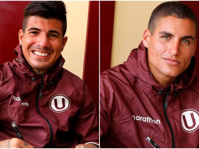 Universitario: Armando Alfageme y Alexander Succar renovaron contrato