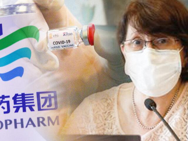 """Pilar Mazzetti se colocará vacuna contra covid-19: """"Pongo el hombro por nuestra patria"""""""