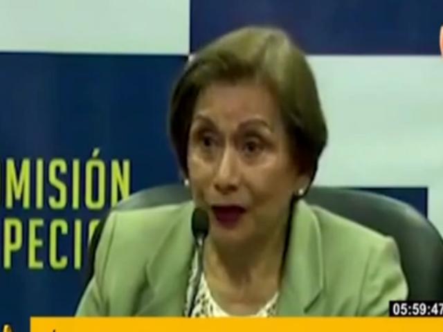 Presidenta del JNJ calificó su designación como un reconocimiento a la igualdad