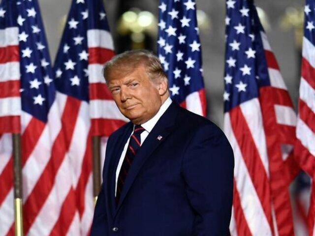 Donald Trump se despide de su cargo como presidente desde la base militar de Andrews