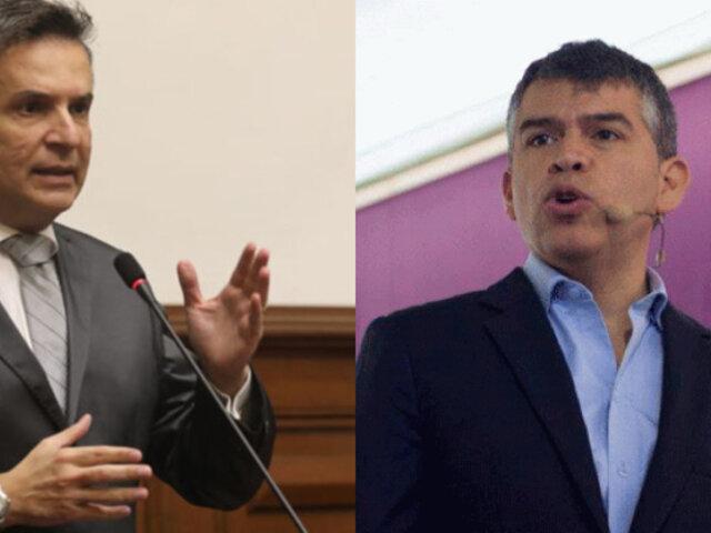"""Chehade critica a Guzmán: """"Funge de abogado de oficio del expresidente Vizcarra"""""""