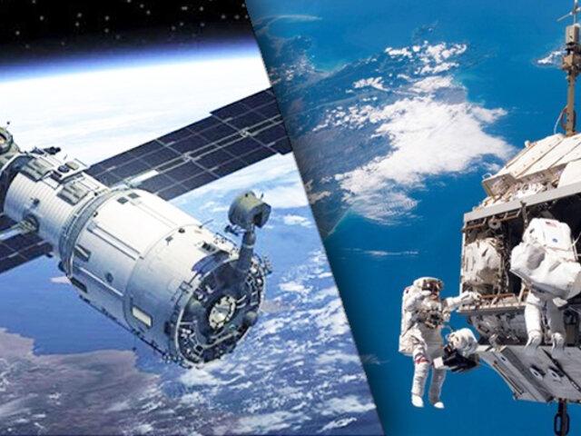 Micrometeorito impactó contra la Estación Espacial Internacional, provocando grieta
