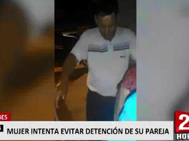 Tumbes: Familia se enfrentó a la Policía para evitar ser detenidos