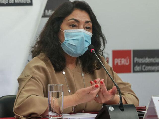 """Violeta Bermúdez sobre cuarentena: """"El objetivo es que no exceda los 15 días"""""""