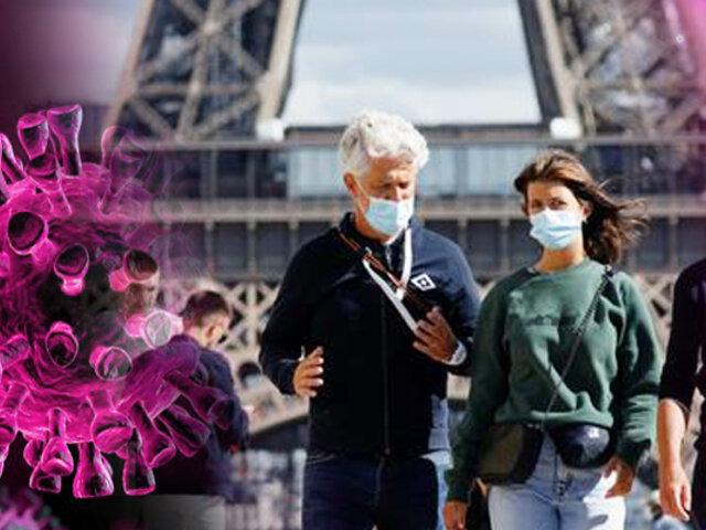 Francia amplía el toque de queda por aumento de contagios de COVID-19