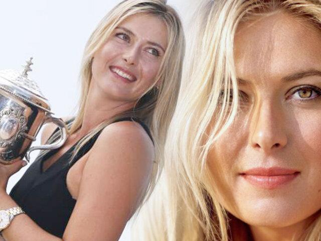 María Sharapova y su nueva faceta