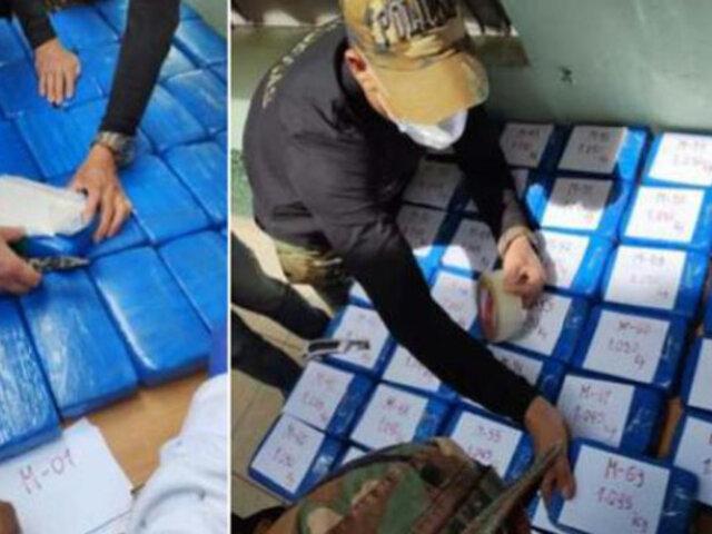 Cusco: incautan más de 140 kilos de droga que estaban enterrados en una cabaña