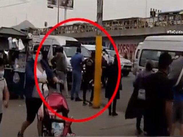 Ordenan la liberación de chofer que atropelló a fiscalizadora de ATU en El Agustino