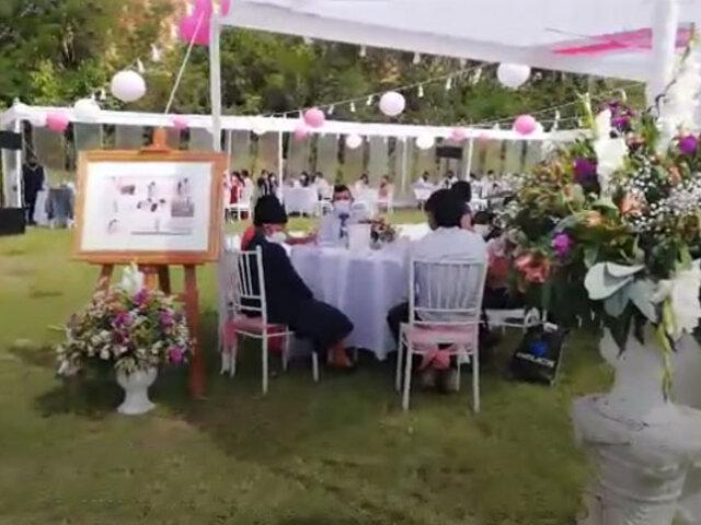 Huánuco: intervienen a 80 personas que festejaban matrimonio pese a restricciones