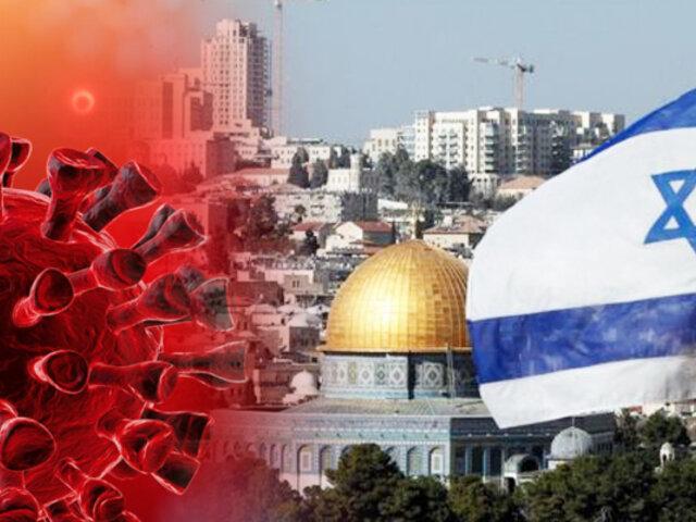 Israel registra récord de pacientes graves con coronavirus