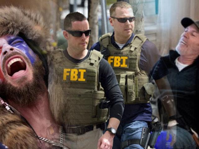 FBI detiene a los seguidores de Trump que asaltaron el Capitolio