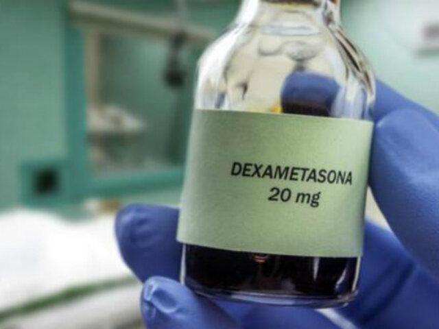 Digemid: personas con covid-19 pueden morir al automedicarse con dexametasona