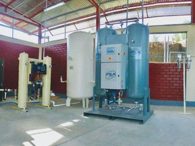 Ayacucho: instalan tercera planta de oxígeno ante alarmante incremento de casos Covid-19