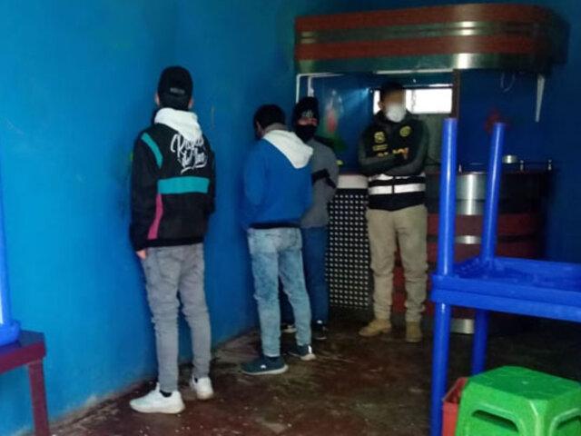 Covid-19: intervienen a 22 personas cuando participaban de  una fiesta privada en Tacna