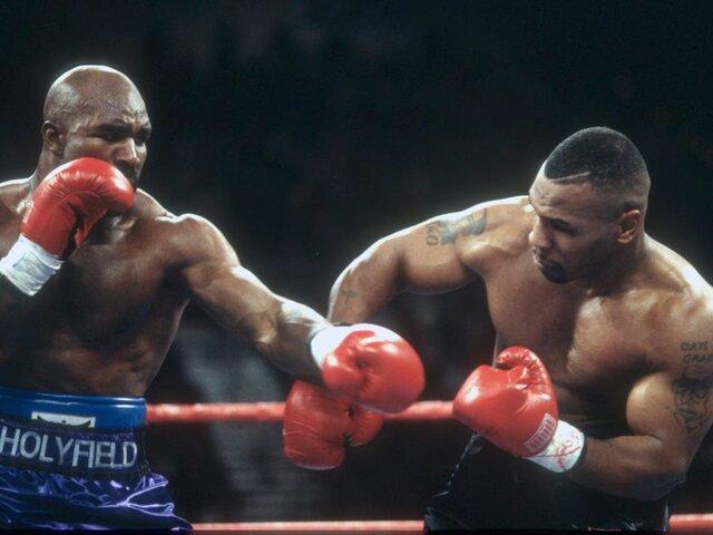 Tyson y Holyfield podrían volver a enfrentarse por tercera vez