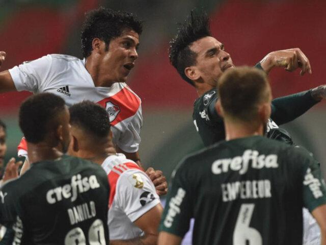 Copa Libertadores: River venció 2-0 a Palmeiras, pero quedó eliminado en semifinales
