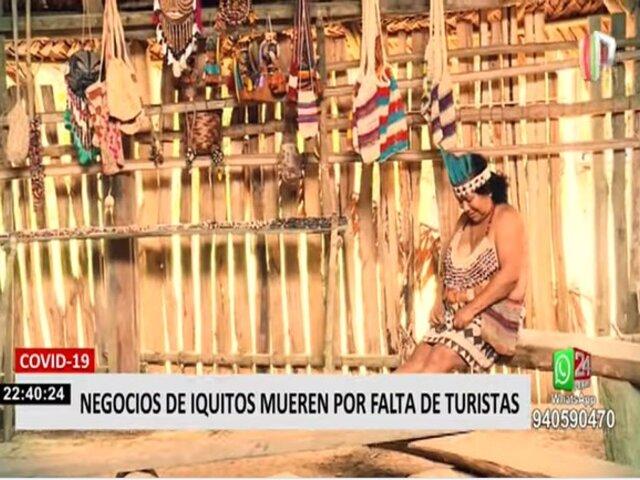La covid-19 amenaza el turismo y comercio en Iquitos