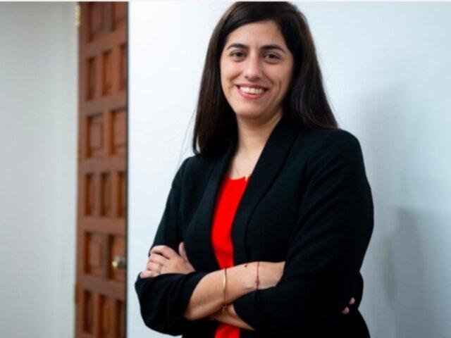 María A. Alva: Exministra de Economía fue designada directora de proyectos en ONG Acasus