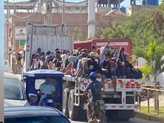 Piura: Alcalde de Máncora pide al Gobierno Central controlar ingreso de extranjeros