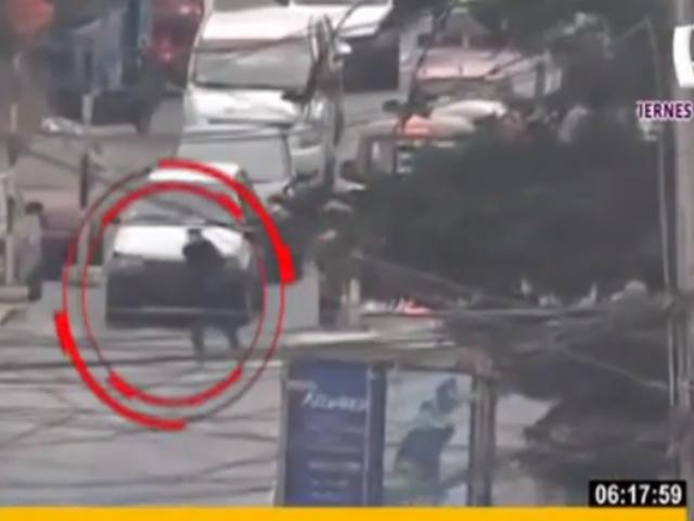 Agentes Terna capturan a ladrones de celulares en la capital