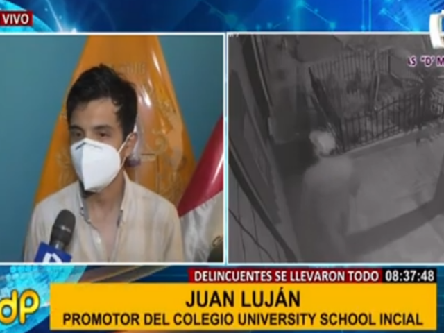 Carabayllo: piden presencia policial para iniciar investigación de robo a colegio