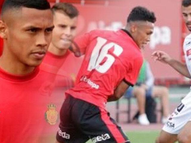 Bryan Reyna es separado del Mallorca por indisciplina