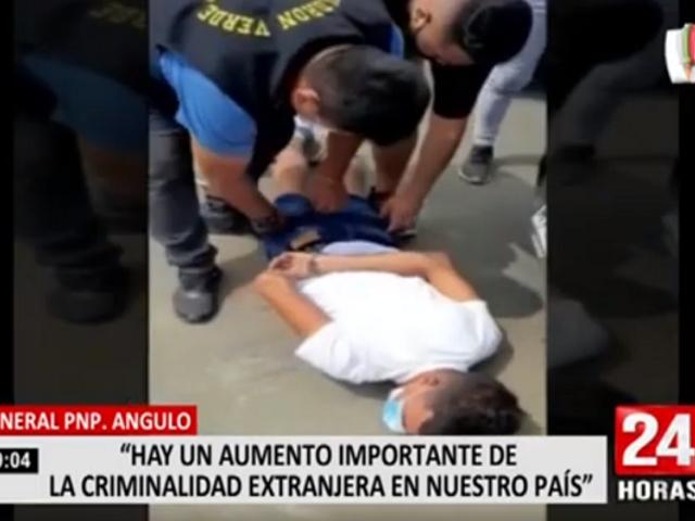 La Policía Nacional advierte sobre incremento de criminalidad extranjera en el Perú