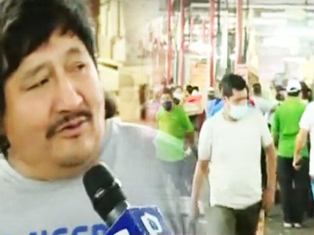 """Así se vive la segunda ola en el """"Mercado de Frutas"""" de La Victoria"""