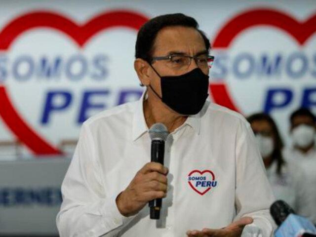 Martín Vizcarra sería el congresista más votado en Lima, según los resultados de la ONPE