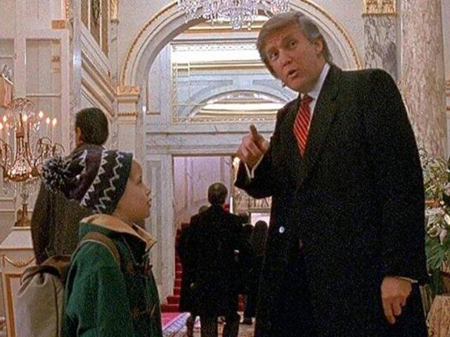 """Macaulay Culkin a favor de eliminar cameo de Donald Trump en """"Mi Pobre Angelito 2"""""""
